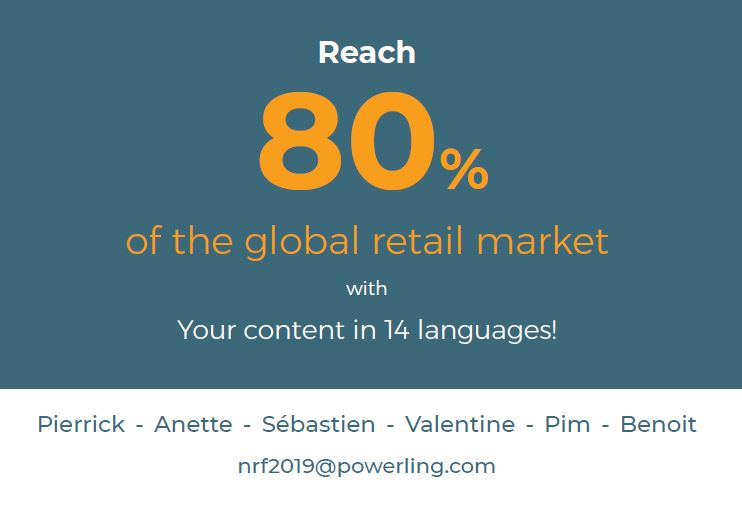 Retrouvez Powerling au NRF Retail's big show 2019 !